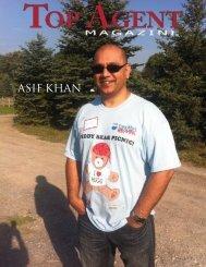 ASIF KHAN - Top Agent Magazine