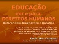 Educação em e para os Direitos Humanos - DHnet