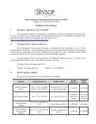 Curso de Inspector Gubernamental de Licencias (GSI PEL ... - ICAO