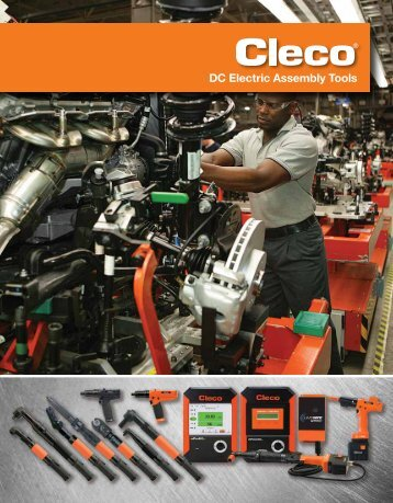 Cleco DC Electric Assembly Tools Catalog SP ... - Wainbee Limited