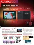 Linea di fotocamere digitali compatte - Nital.it - Page 6