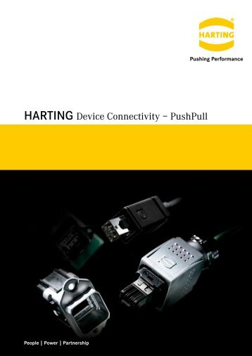 HARTING Device Connectivity – PushPull
