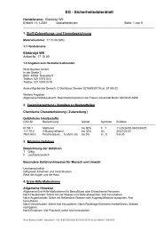 Elektrolyt W9 - Buehler GmbH