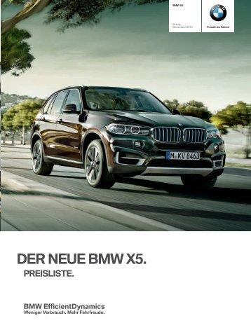 Preisliste_BMW_X5