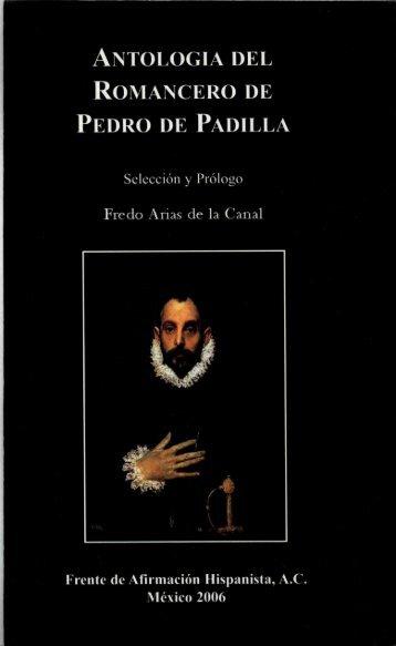 antologia del romancero de pedro de padilla - Frente de Afirmación ...