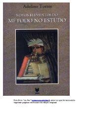 """Este livro """"on line"""" começa na página 5, uma ... - adelinotorres.com"""