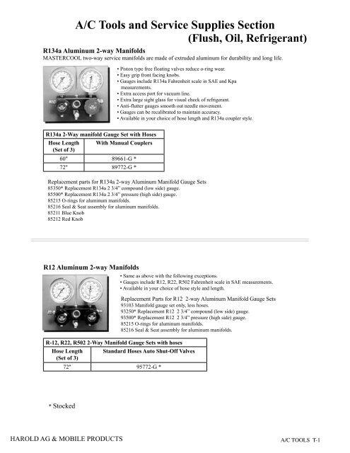 Mastercool 82375 2 Oz A//c Oil Injector R134a
