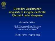 Disturbi delle vergenze - C. Schiavi - E. Medea