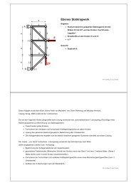 Ebenes Stabtragwerk F 2F