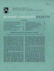 Volume 6 Number 1 - Adm.monash.edu.au - Monash University
