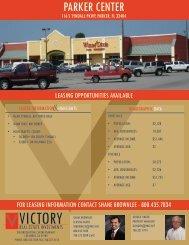 parker center - victory real estate investments llc
