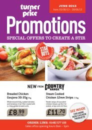 June 2013 Stir it UP Promotions - Turner Price
