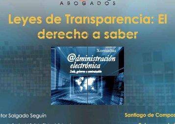 Leyes de Transparencia derecho a saber Leyes de ... - CPEIG