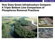 How Does Green Infrastructure Compare: A Triple Bottom Line ...