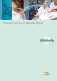 Magazine de la Clinique des Tilleuls 2007 - Klinik Linde
