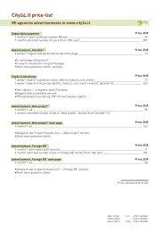 City24.lt price-list