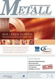 WIR LEBEN KUPFER - Metall-web.de