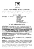 2012 Direct Sale - Mowbray Collectables - Page 3