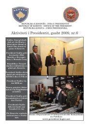 Aktivitetet e Presidentit, nr 06 - Kosovo President