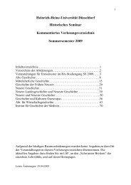 Kommentiertes Vorlesungsverzeichnis SS 2009 - Philosophische ...
