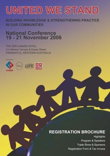 UWS Registration Brochure.indd - aaswwe