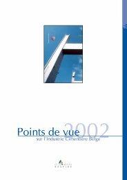 Rapport annuel de l'industrie cimentière belge en 2002 - Febelcem