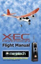 X-EC Instruction Manual - High Definition Radio Control