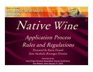 Native Wine - Viticulture Iowa State University