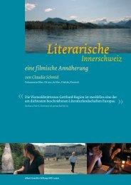 Literarische Innerschweiz Flyer - Ein Literarischer Atlas Europas