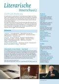 Literarische Innerschweiz Flyer - Ein Literarischer Atlas Europas - Seite 2