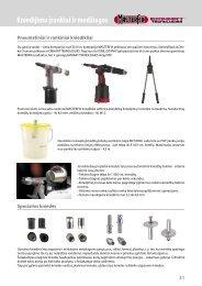 Kniedijimo įrankiai ir medžiagos - Gitana, UAB
