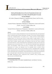studying relationship between perceived organizational justice and ...