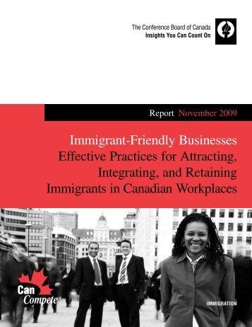 Immigrant-Friendly Businesses: Effective ... - Hireimmigrants.ca