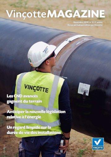 Vinçotte Magazine fin d'année 2010