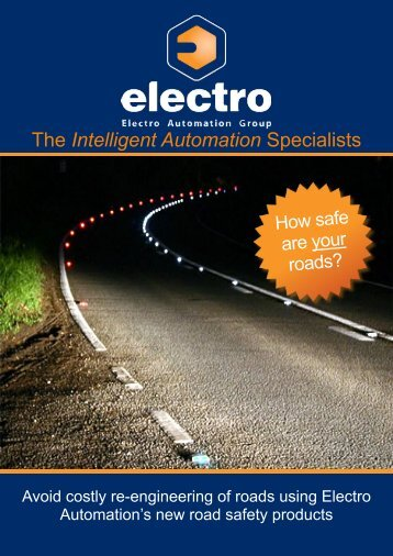 Vehicle Activated Signs Brochure - Electro Automation Group Limited