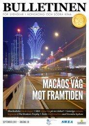 september 2011 • årgång 30 - The Swedish Chamber of Commerce ...