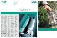 Multi-drainage pump Wilo Drain TS 32.