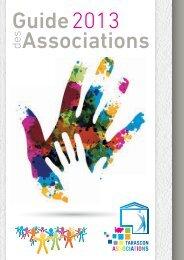 Télécharger le guide des associations (format PDF) - Tarascon