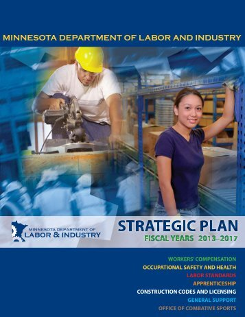 prepared this strategic plan - Minnesota Department of Labor and ...