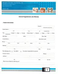 New Patient Forms - Sioux Falls Dentist