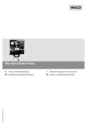 wilo fluidcontrol ek. Black Bedroom Furniture Sets. Home Design Ideas