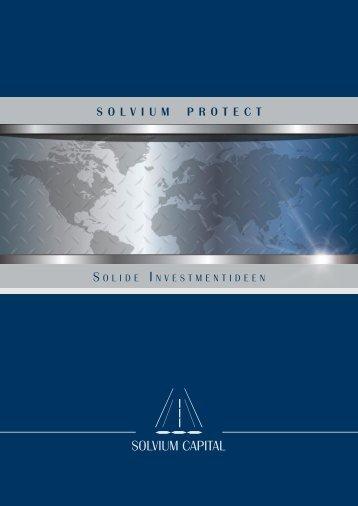 SOLVIUM PrOtect - AVL Finanzdienstleistung Investmentfonds