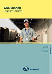 Logistics Sharjah - GAC