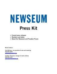 Press Kit - Newseum
