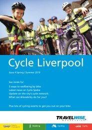 Liverpool - the TravelWise Merseyside website