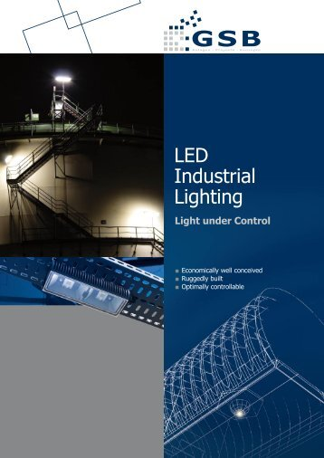 LED Industrial Lighting - GSB