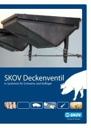 DA 1500 DA 1800 Deckenventile - Skov A/S