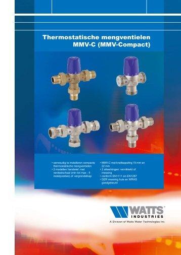Thermostatische mengventielen MMV-C - Watts Industries ...