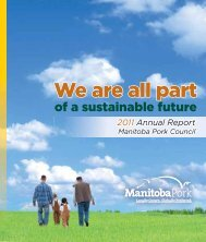 2011 Annual Report - Manitoba Pork Council