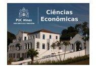 Ciências Econômicas - ICEG - PUC Minas